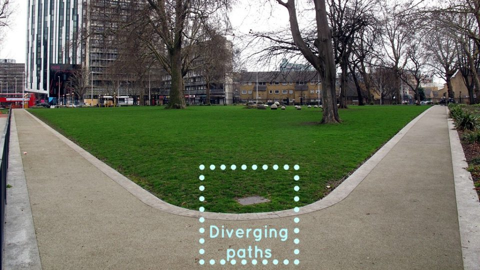 Diverging paths3