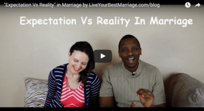 """Expectation Vs Reality"""" in Marriage"""