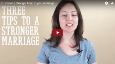 Tips for a Stronger Bond in your Marriage