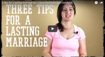 Tips for a Lasting Marriage