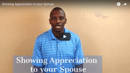 Showing Appreciation to your Spouse