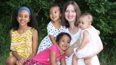 Whitney Shayo and Four Daughters